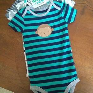 NWT Child of Mine 3 pack bodysuits